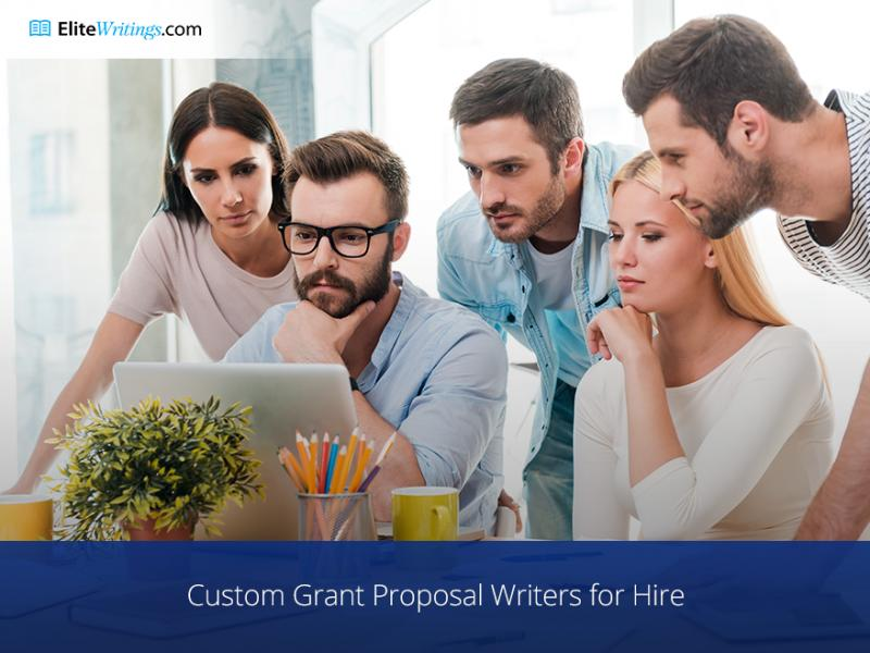 Custom Grant Proposal Writers for Hire