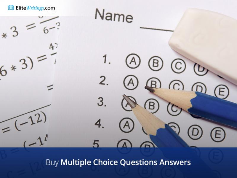Buy Multiple Choice Questions Answers