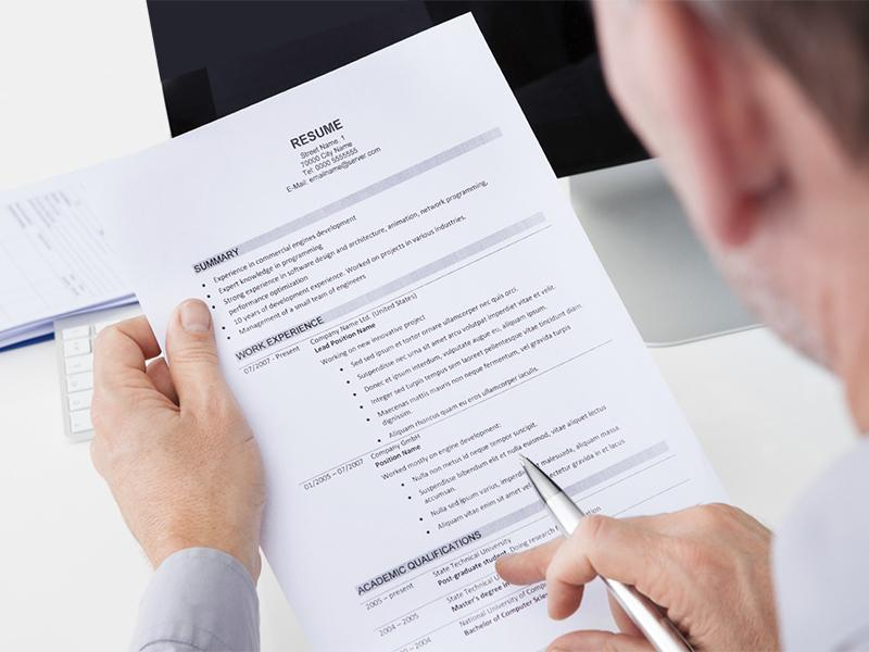 resume review services start from 9