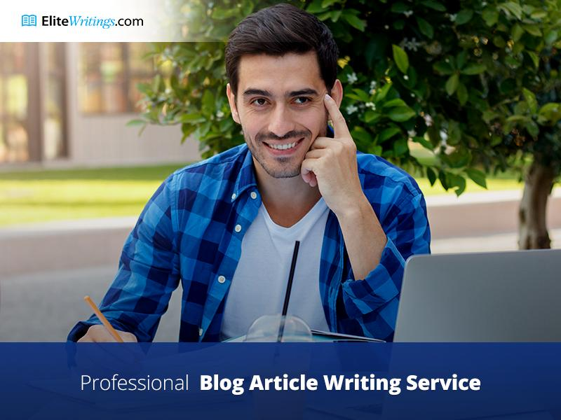 Professional Blog Article Writing Service