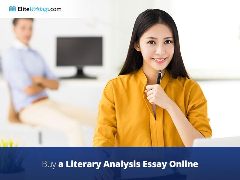 Buy literary analysis