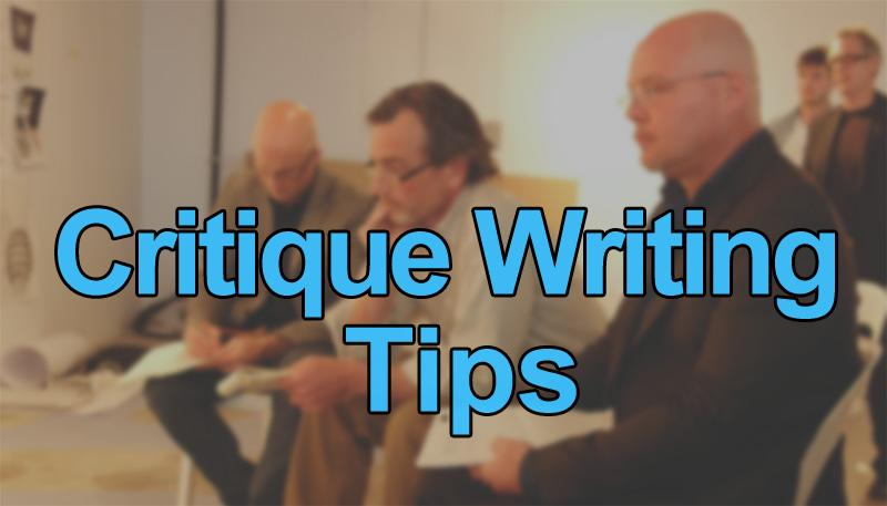 Art Critique Writing Tips