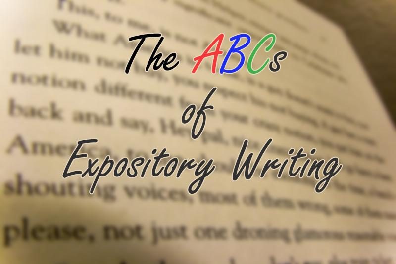 The ABCs of Expository Writing