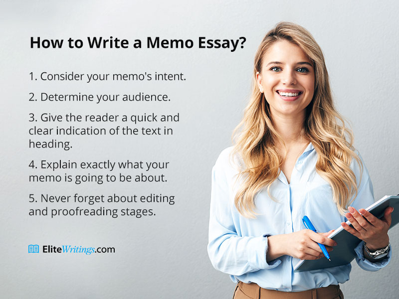 How to Write a Memo Essay?