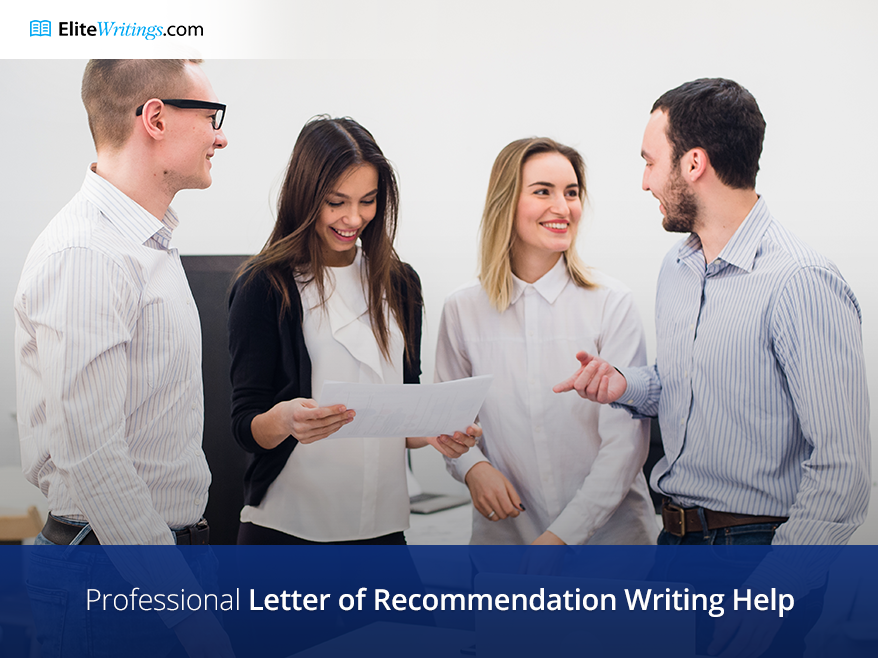 Professional Letter of Recommendation Writing Help
