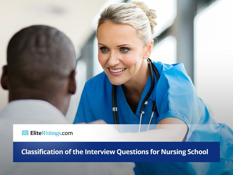 Classification of the Interview Questions for Nursing School
