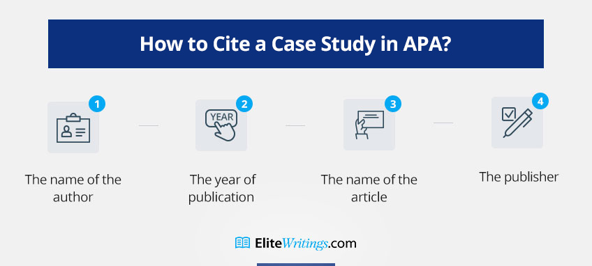 How to Cite a Case Study in APA?