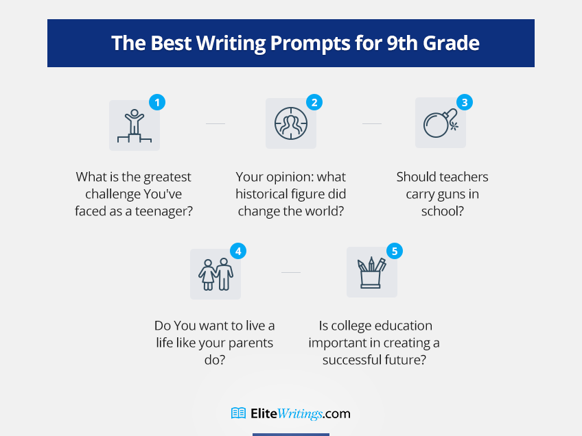 The Best Writing Prompts for 9th Grade